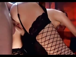 cute red head screwing in stockings and boots