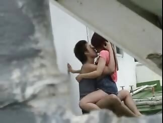 Hidden cam films chinese pair pounding