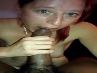 Cheating married redhead mom fucking a bbc