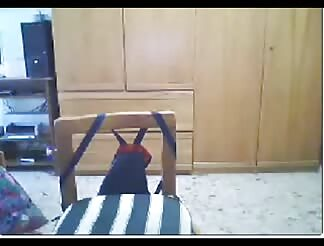 sweet light brown haired plowed In Doggy Style On web cam