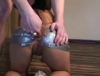 Short but HOT homemade anal sex