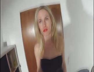 German blonde and sweet anal sex