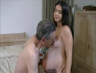 Creampie for a pregnant hot girl