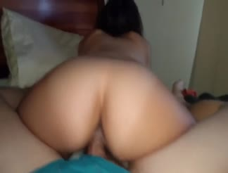 Homemade sex with a creampie