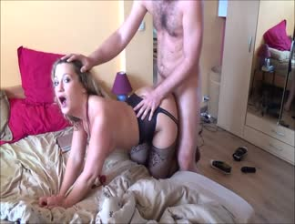 Sweet homemade couple 1st sextape