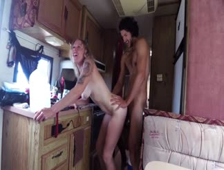 HOT sex during our camper trip