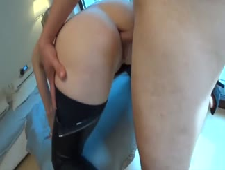 HOT German milf fucked in her butthole
