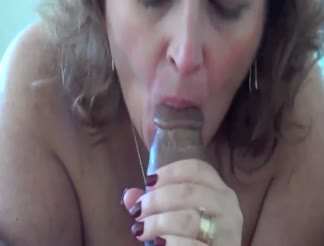 Nasty milf with her toy boy fucking