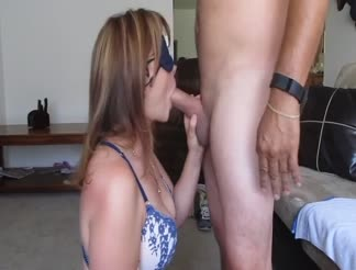 Cuckold wife satisfying her husband
