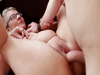 Young dude fucks my older wife