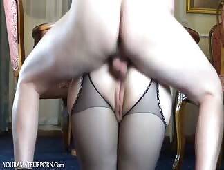 Russian mature fucked anal