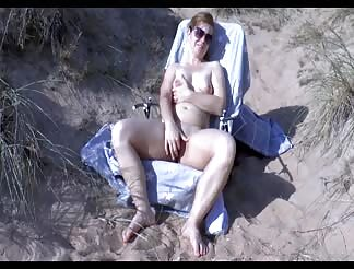 CIM at a nude beach with my wife