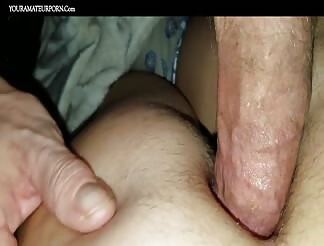 One minute orgasm after fucking in the butt