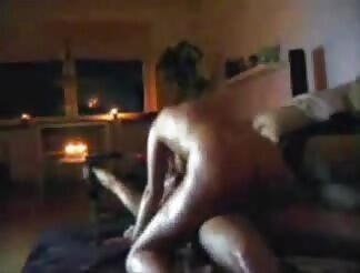 sweety oiled blond banged with rod ride