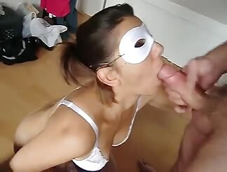 The Lone Ranger is a chic and she licks penis