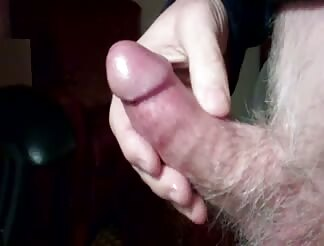 A heavy load after masturbating to porno