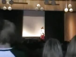 Stripping at school assembly
