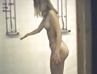 lovely broad filmed by hidden cam under shower