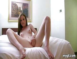 Walked in on my GF's little sister making a sex tape