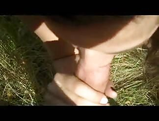 swallowing and banging in a outdoor park!