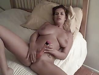 yummy stacked doll masturbates in front of cam