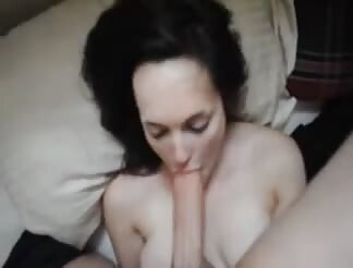 Teached her blowing cock very well