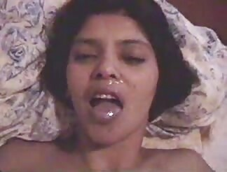 sweety Indian bitch gets semen on face