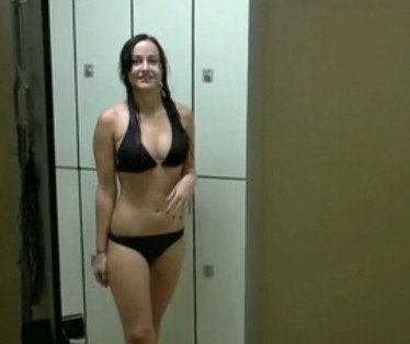 HOT Teen Fucked in Public Swimming Pool