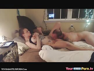 Missionairy sex with my girlfriend