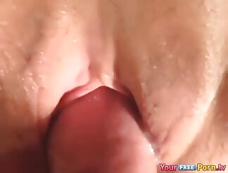 Creampie her pussy