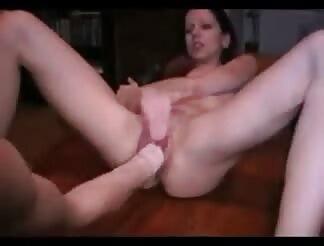 sweet brunette gets her vagina fisted