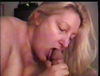 BBW milf polishing my hard knob