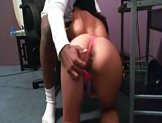 lovely asian infatuated and in love with is massive ebony cock