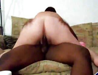 huge chick rides humongous ebony penis