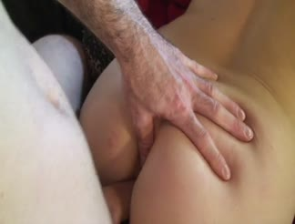 Great girl takes anal right up the ass