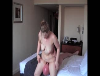 British wife cheating in a hotel