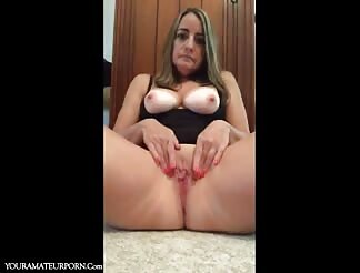 Lovely shy milf and her sex compilation