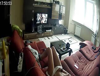 Hidden cam while GF is masturbating