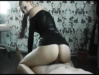 GF in latex outfit fucked from behind