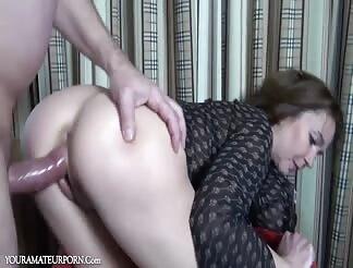 German girl fucked anal