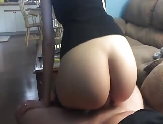 Bouncing on my cock