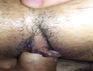 Closeup Asian pussy fucked from sweet pov position