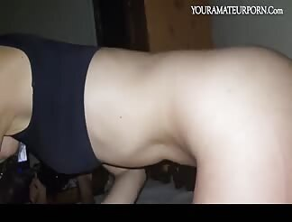 Teen cock riding till a nice cum in mouth