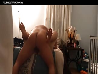 Fucking a chubby Asian at home