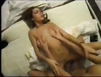 Hot brunette gets fucked hard and takes cumshot