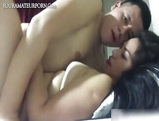Chubby Latin GF fucked with a cim at the end