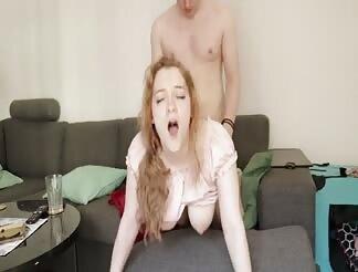 Cum pov tasting ginger slut are