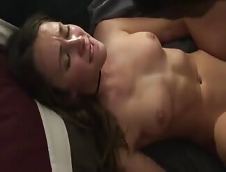 Watching his girlfriend getting fucked by a black guy