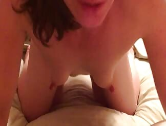 do you like how my tits jiggle when i get anal