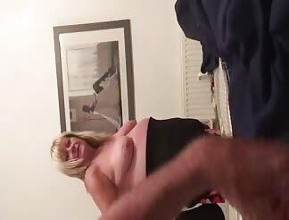 Bbw wife undressing